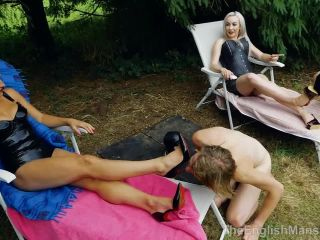 Foot Licking – The English Mansion – High Protocol Gala Pt3 (Complete) – Strapon Gangbang And Foot Worship