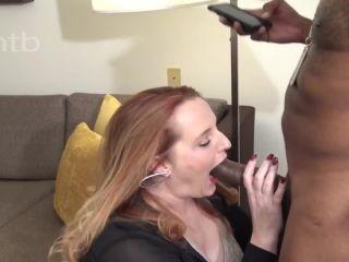 Got her bald pussy stuffed with black bull's cum