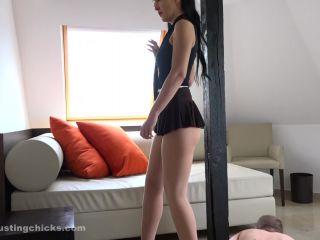 BallBustingChicks – My legs and ass worship slave