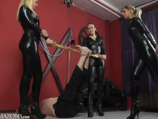 Corporal Punishment – CRUEL MISTRESSES – FULL HD Falaka with three girls Starring Lady Anette