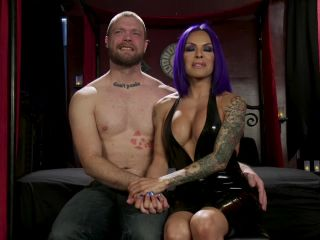Boyfriend PUNISHMENT: TS Foxxy Pounds Loser Boyfriend Mike Panic's Ass