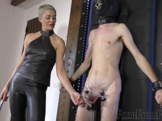 alina li femdom bdsm porn | Femdom – Femme Fatale Films – Clamped Cock Caning – Super HD – Complete Film – The Hunteress | leather