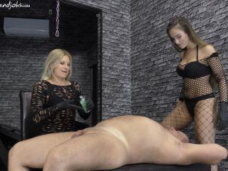 Sperm – CRUEL MISTRESSES – Two witches – Mistress Zita and Mistress Amanda