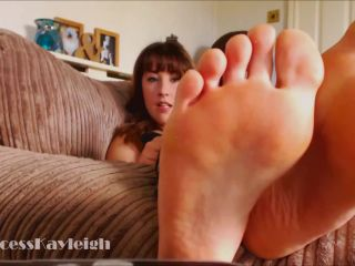 Princess Kayleigh - My Feet Own Your Cock and Wallet - dirty talk on bdsm porn