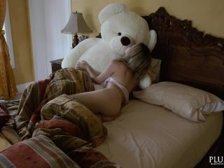 Tracy sex with a rich plush teddy bear on a villa in a jungle in carib ...