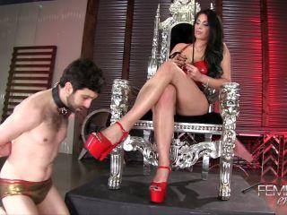 VICIOUS FEMDOM EMPIRE – Mistress Jasmine's Foot Bitch  Starring Mistress Jasmine Mendez - jasmine mendez - femdom porn black bbw femdom