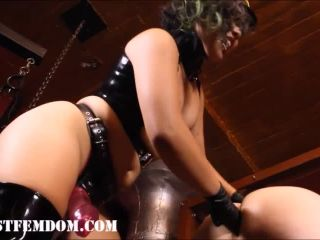 Fascist FemDom  Fuck you like a Runaway Slave. Starring Mistress An Li [PEGGING, DILDO FUCKING, LATEX, ASIAN GODDESS]
