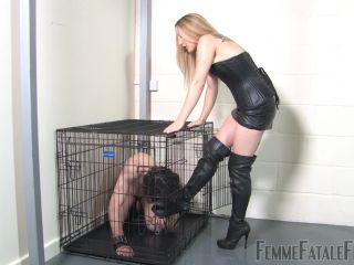 Ball Abuse – Femme Fatale Films – Nikki's Nuts For Busting – Ms Nikki