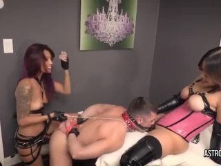 Astro Domina & Asia Perez in Bound, Gagged and Fucked