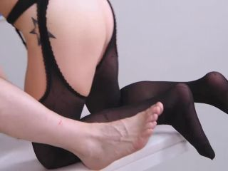 Crotchless Nylons At The Clinic