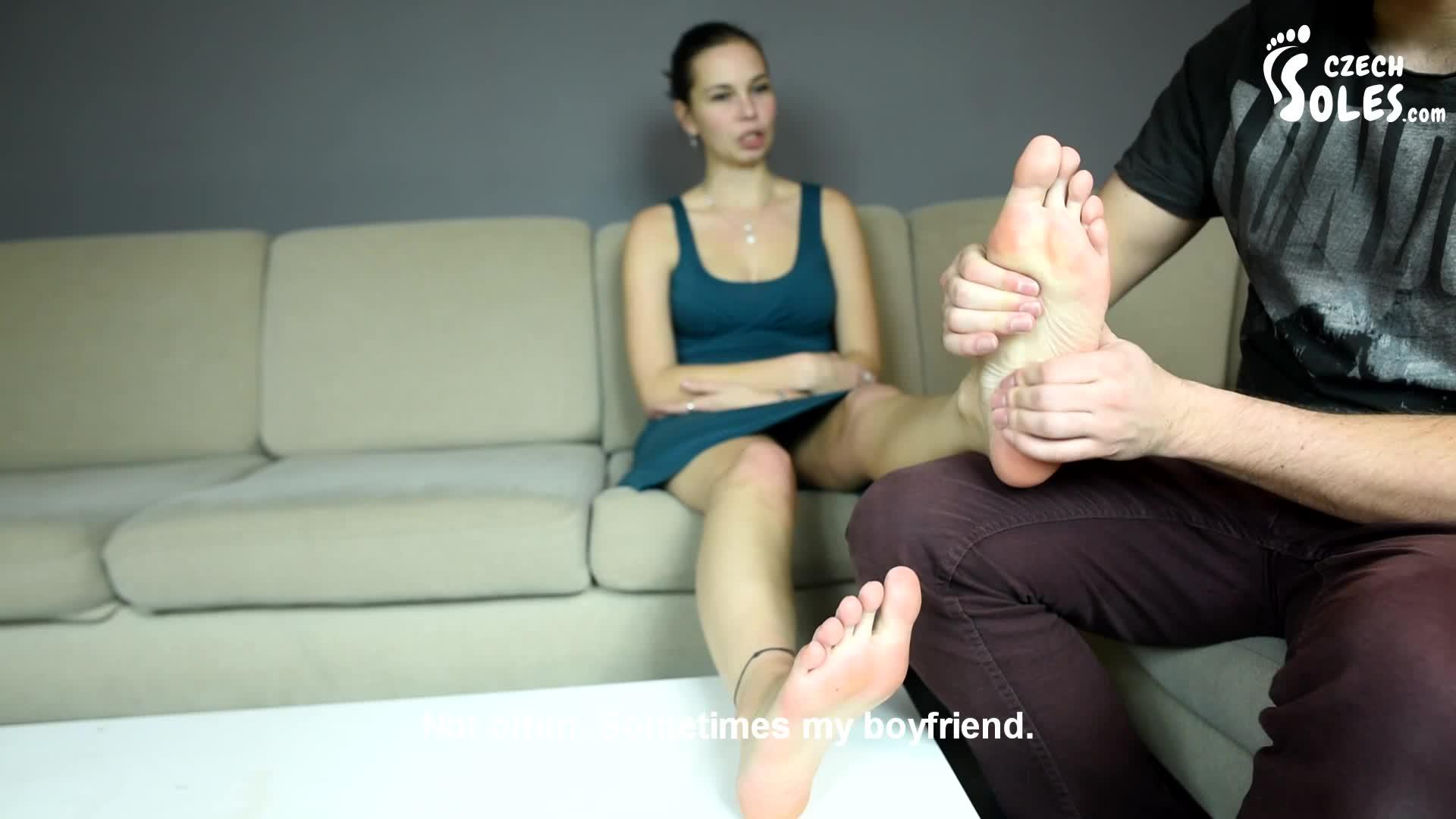 Japanese Self Foot Worship