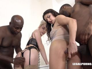 Online Tube LegalPorno presents High sex & good fucking with two sexy bitches Francesca Dicaprio & Maxim Law Part 1 IV248 - anal fisting
