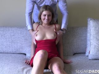 old and young - SugarDaddyPorn presents Big Titty Teen Bridgette Mathers Needs A Daddy