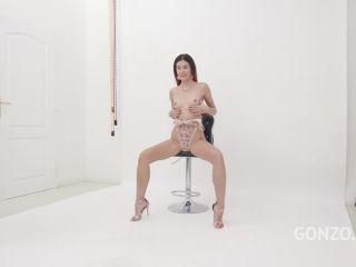Cindy Shine DAP interracial and loose gape and rosebutt anal