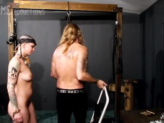 Spanking Abigail Dupree - Cultipacker Ass Whipping