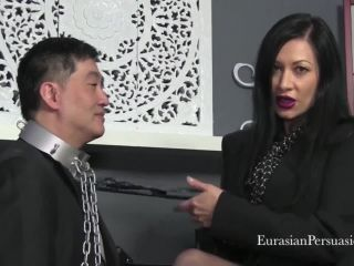 Vancouver Kinky Dominatrix presents Miss Jasmine in Bitch Boss Stocking Worship