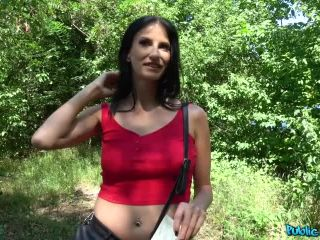 Agent creampies busty lady for cash