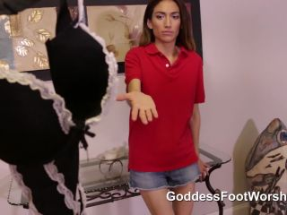Femdom – Goddess Foot Domination – Maids Employment Conditions – Jean Jaxxson