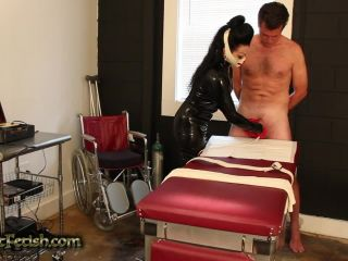 tormented and forced by the latex nurse  cbt
