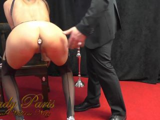 My first time Paris submissive with busty Lady
