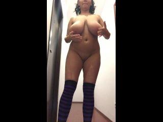 HugeBoobsErin - Naked teasing with sister Helen