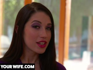 Watch Your Wife - Alex Coal Your wife Alex Coal fucks her co-worker and you watch it all