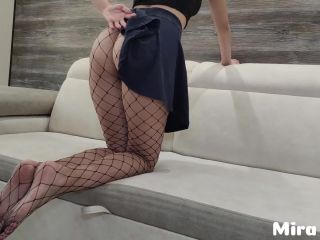 Hot girl with a gorgeous ass gets a big dick - Mira Lime