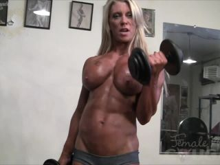 Ginger Martin Pec Bounce Muscle Control