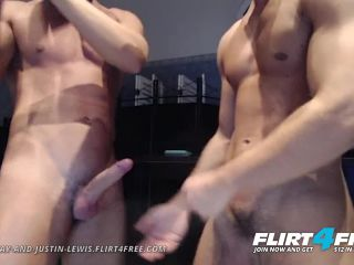 Aiden and Justin on