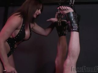 Cum Swallowing – Femme Fatale Films – Drink Up! – Complete Film – Mistress Carly - degradation - cumshot female neck fetish