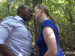 Porn online ManyVids presents b1ackwood – If you go down to the woods today
