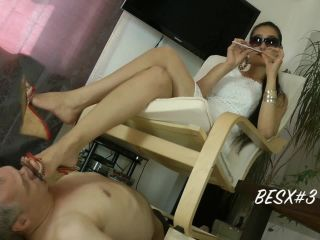 Foot Domination – Foot Goddess Leyla – Under Goddess Leylas Wedges