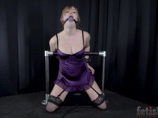 227-03_Bondage_Orgasms_for_Ball-gagged_Blonde_on_a_Sybian
