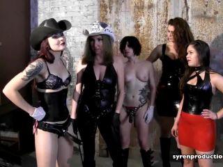 Atlanta Dungeon – Mistress Ultra Violet, Mistress Ayn, Mistress Emily Danger, Mistress Vanity Vain, Switch Jade – Suck It Whore