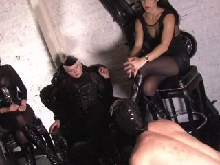 Mistress Blackdiamoond – Servant for the girls' night – Lady Xena, Foot Slave Training on feet throat fetish