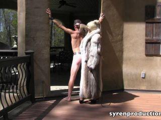Corporal Punishment – Mistress Aleana's Queendom – Harshly Whipped Boy Blonde Fur Goddess