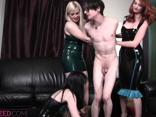 Feminized - Lexi Sindel, Kendra James, Mina Thorne - Spanked in front of my girlfriends!!!