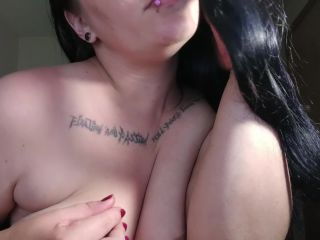BBW Babe Sensually Smokes a Bong & does ASMR to Blow your Mind