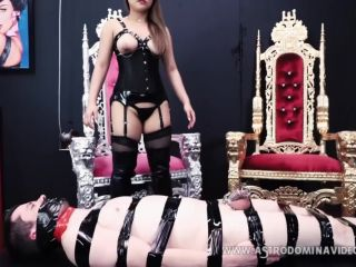 Female Domination – AstroDomina – BOUND, GAGGED, TEASED AND DENIED feat AstroDomina