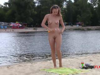SPANISH NUDE BEACH WITH BEAUTIFUL girlS.