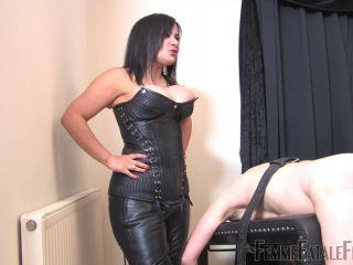 Femme Fatale Films – Mistress R'eal – Figging – Complete Film – Spanking – Femme-Fatale, Boot Worship