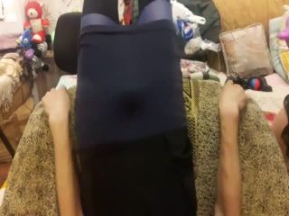 Mistress destroys ass with huge strapon and fisting