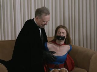 superheroine trapped
