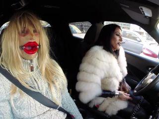 KinkyMistresses – Mistress Kennya – Kinky Drive In Bucharest – Sissy, Female Domination - mistress - femdom porn femdom plug
