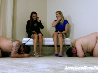 Online femdom video The Mean Girls - Princess Amber, Princess Mia - Mean Girl vs Brat Princess  - Ballbusting Contest (1080 HD)