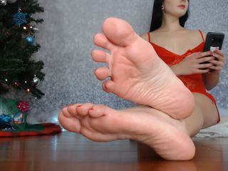 Porn online Toes pointing – Natalie Darling – Festive Foot Ignore