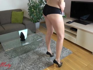 MyDirtyHobby presents sexynaty — Wo sollen die 30 cm reinpassen — Where should the 30 cm fit in