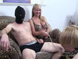 Male Cum Swallowers – Club Stiletto FemDom – Tasty Balls And Hot Cum For Sissy – Mistress Kandy