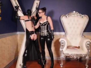 Glasses – Cybill Troy FemDom Anti-Sex League – Anal Hook Whip Lashing