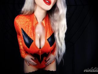 Porn online Worship Violet Doll - Halloween Drain Game femdom